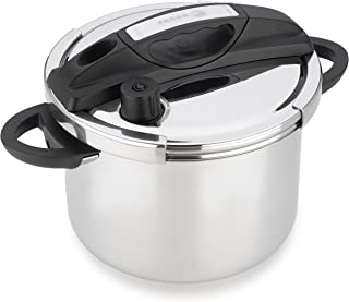 Fagor HELIX Multi-Setting Pressure Cooker with Universal-Locking, 8 quart, Polished Stainless Steel – 935010057