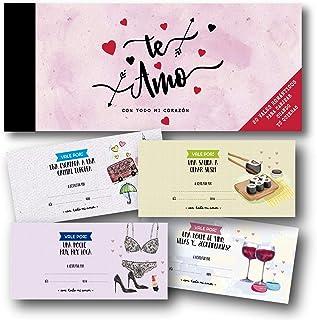 HappyMots - Talonario 20 vales románticos para canjear