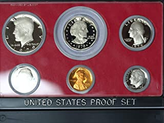 1979 S Type-II 6-Coin Proof Set GEM Rare Type 2 Set in Original Box