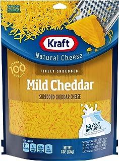 Kraft Natural Finely Shredded Mild Cheddar Cheese (8 oz Bag)