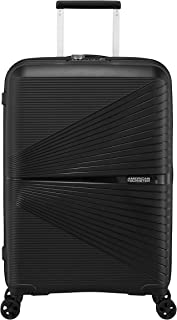 American Tourister Airconic Hardside Spinner Suitcase, 67 Centimeter, Onyx Black