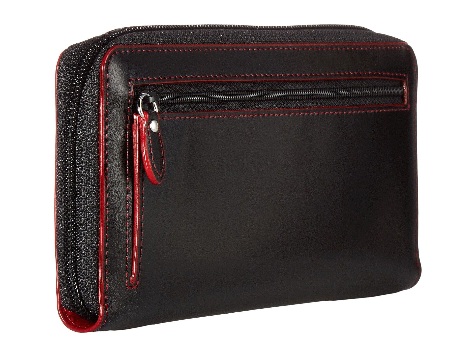 Perla Black Wallet amp; Under Accessories Lodis Key Rfid Lock Zip Audrey wpqFSPg