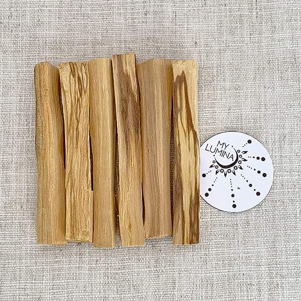 Palo Santo Sticks Palo Santo Holy Wood Incense Sticks Cleansing Purifiying Healing Smudging Chakra Balancing Good Luck Meditation 6