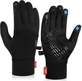 Sponsored Ad - Cholewy Winter Gloves for Men Women Touch Screen Warm Gloves for Hiking, Running, Cycling, Driving, Workout...