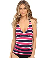 Tommy Bahama - Nautical Double Strap Halter Tankini