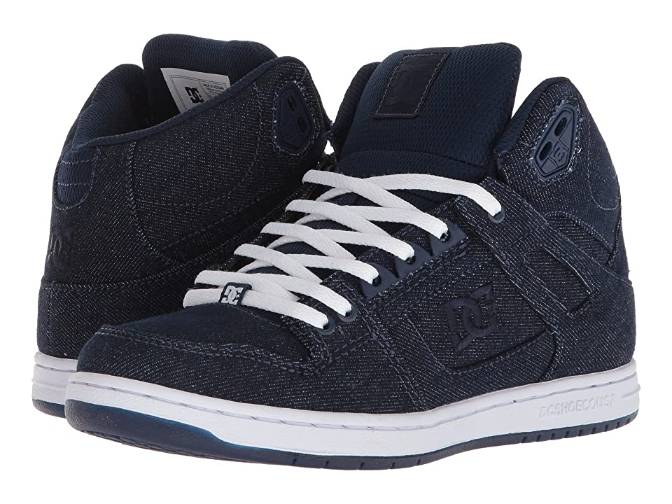 DC Pure High-Top TX SE (Navy/Navy) Women