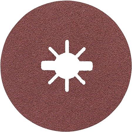 Fiberscheiben 125 mm Fiberschleifscheiben für Winkelschleifer Korn 24-120 40 St