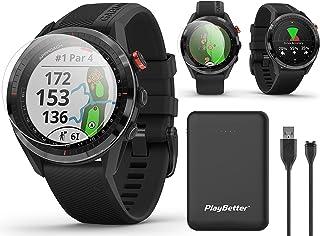 $414 » Garmin Approach S62 (Black) Premium Golf GPS Watch Bundle | +PlayBetter Portable Charger (Large) & HD Screen Protectors | ...
