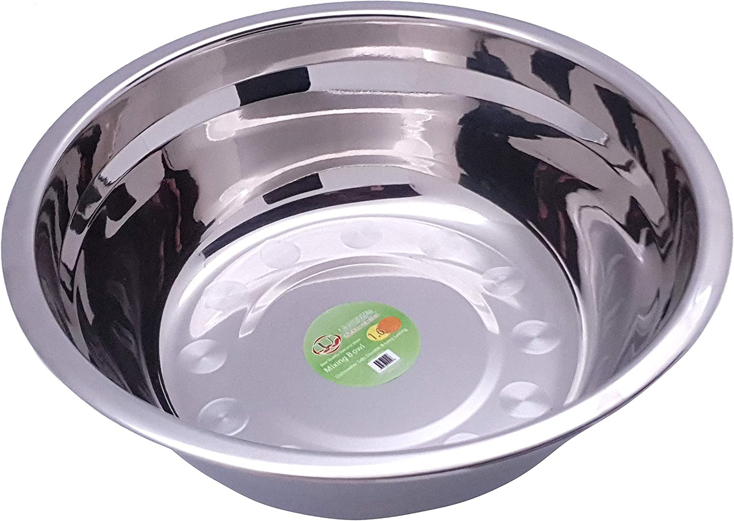 Uniware Stainless Steel Mixing Bowl 14 shop QT Houston Mall