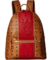 MCM - Medium Stripe Stark Backpack