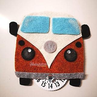 Disco Orario per auto Volkswagen T2 - idea regalo gadget simpatica uomo donna hippie