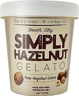 The Ice Cream & Cookie Co Frozen Simply Hazelnut Gelato, 473 ml