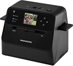 Magnasonic All-in-One Film & Photo Scanner, 14MP Resolution, Converts 4x6 Photos, 35mm/110/126 Film & 135 Slides into Digi... photo
