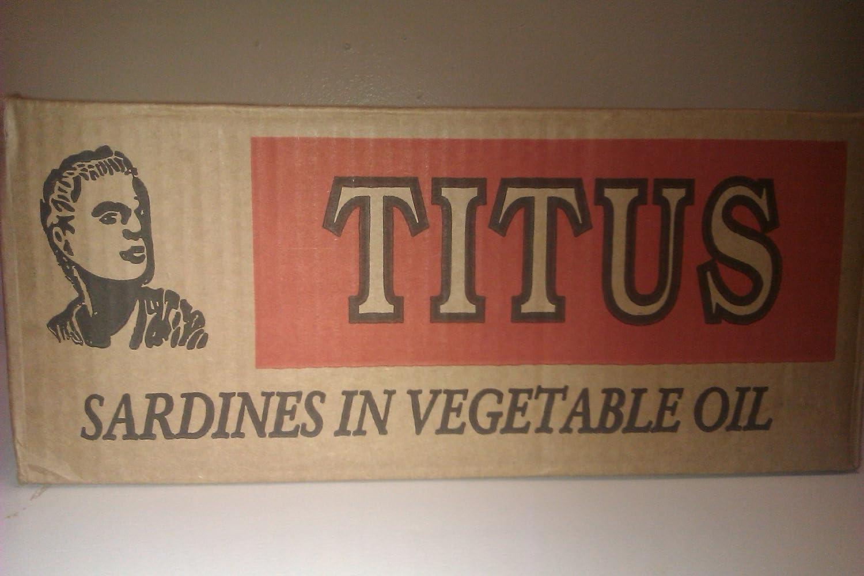 Titus Sardines Case of 50