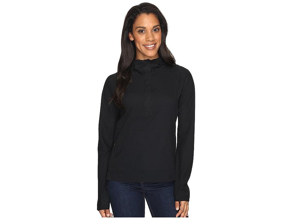 Mountain Hardwear MHW AC Long Sleeve Hoodie (Black) Women