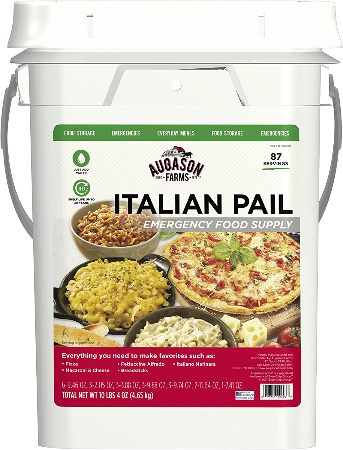 Augason Farms Italian Variety Kit