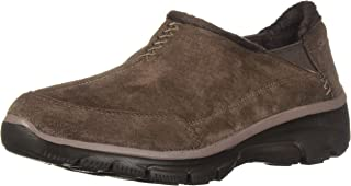 Skechers Womens 49536 Easy Going - Hive - Twin Gore Shootie with Faux Fur Trim