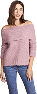 Vince Women's Off Shoulder Pullover Sweater