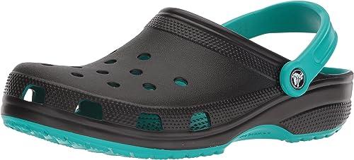 Crocs205108 - Classic Carbon Graphic CLG Adulto, Unisex