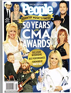 PEOPLE 50 Years of the CMA Awards: Country Music's Finest (Paperback)