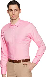blackberrys Men's Solid Slim Fit Formal Shirt
