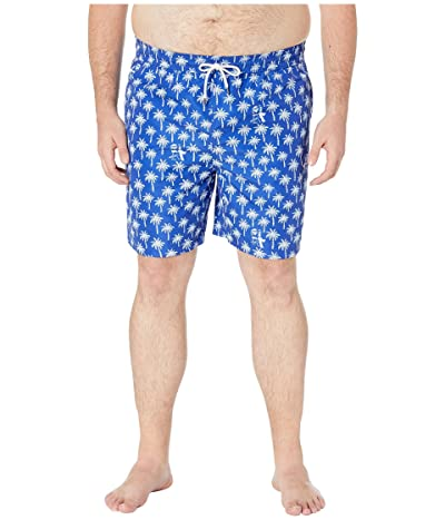 Polo Ralph Lauren Big and Tall Polyester Traveler Swim Trunks (Palm Tree Deco) Men