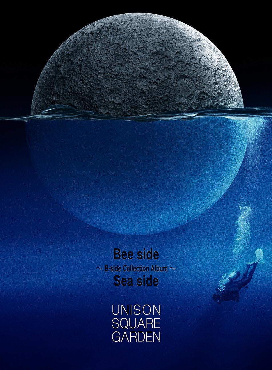 立法警告するハチ【Amazon.co.jp限定】【Amazon.co.jp限定盤(オリジナル?ネックストラップ付)】Bee side Sea side ~B-side Collection Album~ (初回限定盤A) [2CD+BD+ブックレット] (ビニールポーチ付)