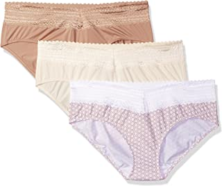 Women's Blissful Benefits No Muffin Top 3 Pack Hipster Panties