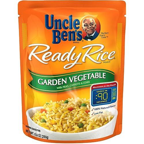 UNCLE BEN'S Ready Rice: Garden Vegetable (12pk)