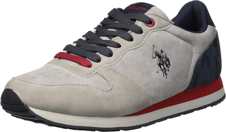 U.S. Polo Men's Sneakers, WILYS4181W7_Y1_LIGR