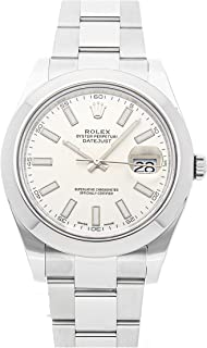 Datejust II Mechanical (Automatic) Silver Dial Mens Watch 116300 (Certified Pre-Owned)