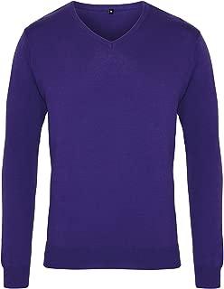 Premier Mens V-Neck Knitted Sweater