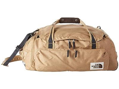 The North Face Berkeley Duffel Large (Kelp Tan Dark Heather/Asphalt Grey Light Heather) Duffel Bags