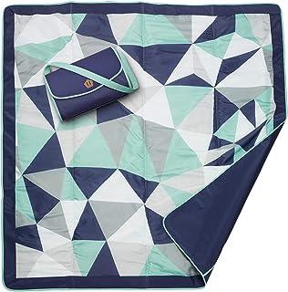 JJ Cole Outdoor Blanket, Fractal, 5' x 5'
