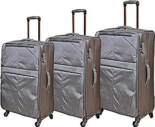 TRACK B134/3P Luggage, 122 liters, Grey