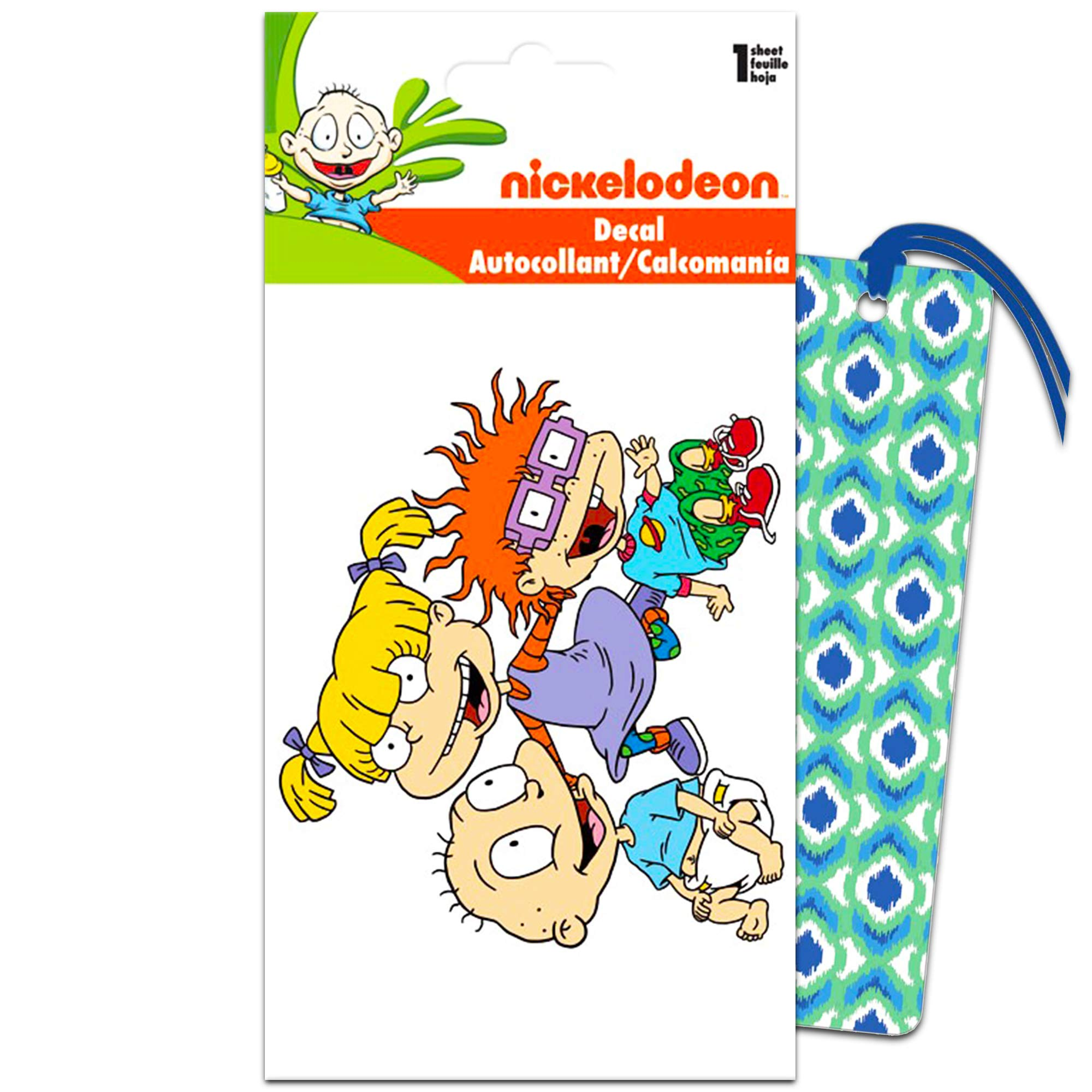 Rugrats Decals for Cars Walls Set MacBook with Bookmark Rugrats Party Favors Car Bundle Includes Premium Nickelodeon Rugrats Stickers for Laptop
