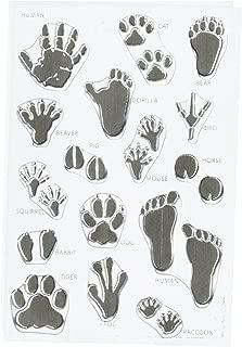 Hero Arts Animal Prints Stamp Set, Clear