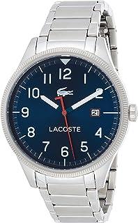 Lacoste Homme Analogue Quartz Montre avec Bracelet en Acier Inoxydable 2011022