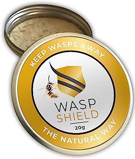 WASP SHIELD Avispa Repelente orgánico Insecticida Natural a Base de aceites Esenciales – Sin D...