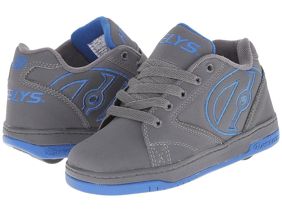 Heelys Propel 2.0 (Little Kid/Big Kid/Adult) (Grey/Royal) Boys Shoes