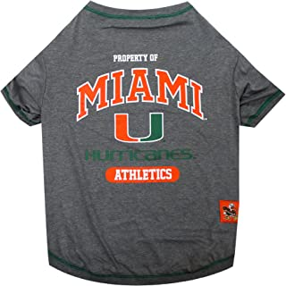 miami hurricanes dog sweater