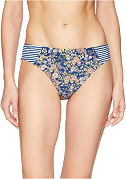 Twinning Floral Contrast Side Hipster Bottom