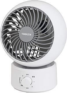 [山善] サーキュレーター 10畳 (換気/空気循環) お手入れ簡単 静音 左右 首振り 上下角度調節 風量3段階調節 ホワイト YAS-FKW15(W) [メーカー保証1年]