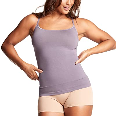 Yummie Seamlessly Shaped Outlast Cami with Convertible Back (Purple Sage) Women