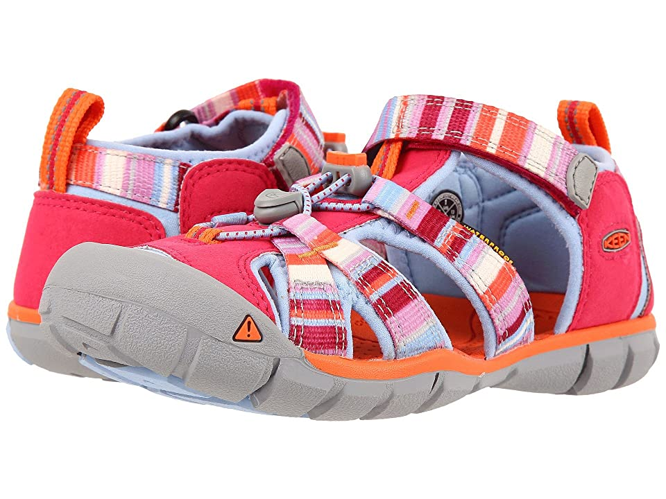 Keen Kids Seacamp II CNX (Little Kid/Big Kid) (Bright Rose Raya) Girls Shoes