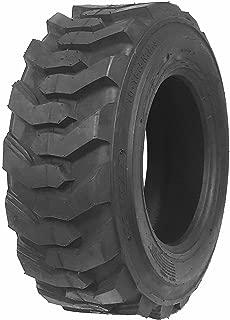 One New ZEEMAX Heavy Duty 10-16.5/10PR G2 Skid Steer Tire for Bobcat w/Rim Guard