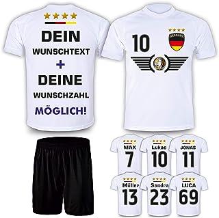 Deutschland Trikot Set 2021 mit Hose GRATIS Wunschname + Num