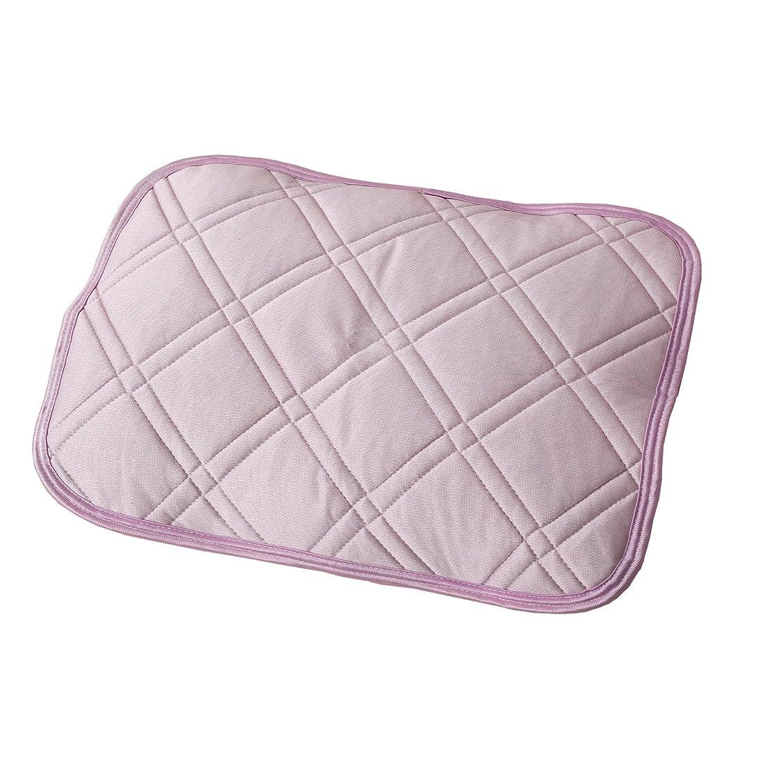 眠りプット祝福する東京西川 枕パッド 冷感 アイスプラス ツヌーガ 触るとひんやり 熱を吸って放出 ピンク PM77004081P