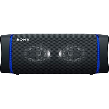Sony Srs Xb43 Tragbarer Kabelloser Bluetooth Lautsprecher Mehrfarbige Lichtleiste Lautsprecherbeleuchtung Wasserabweisend Extra Bass Schwarz Audio Hifi