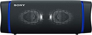 Sony SRS-XB33 – Portable, Waterproof, Powerful and Durable Wireless Bluetooth© Speaker with Extra BASS and Lighting – Black